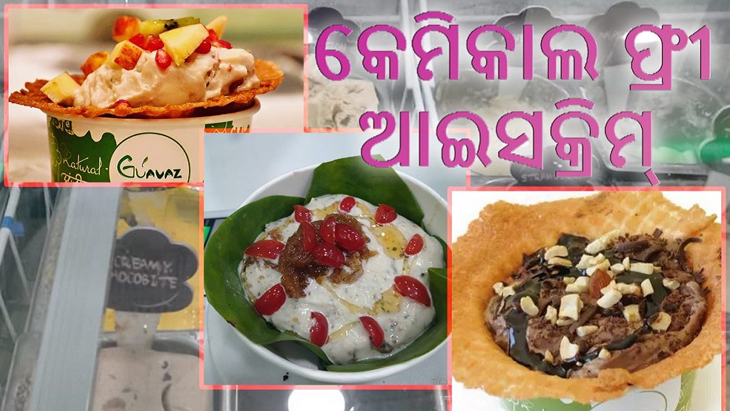 Special:  Want to taste organic ice cream!  Try Guavaz