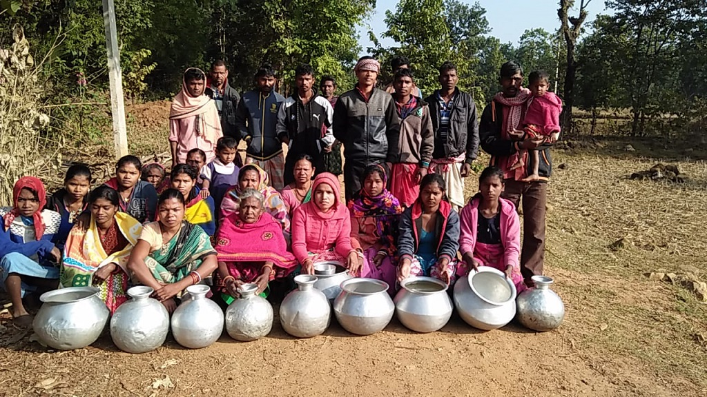 Special: Villagers using pit-water for basic necessities