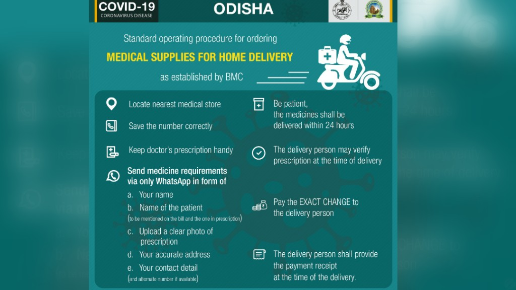 121 chemist shops to home deliver medicines in Bhubaneswar