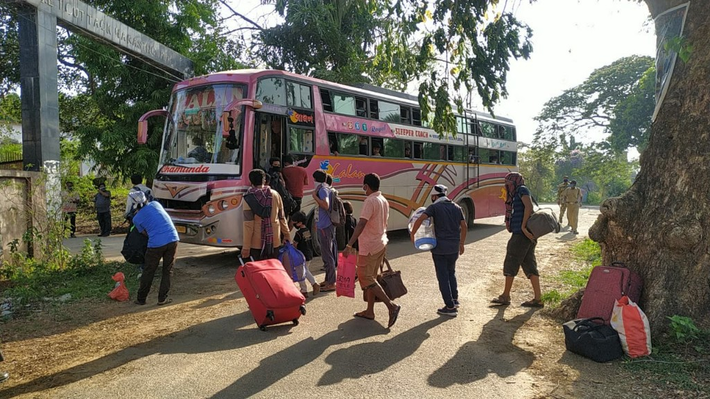 Authorities restrict movement of passenger buses in Ganjam and Gajapati