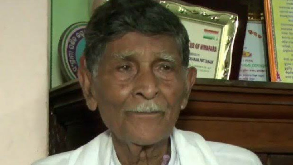 Former RS MP and freedom fighter Bhabani Pattanayak no more