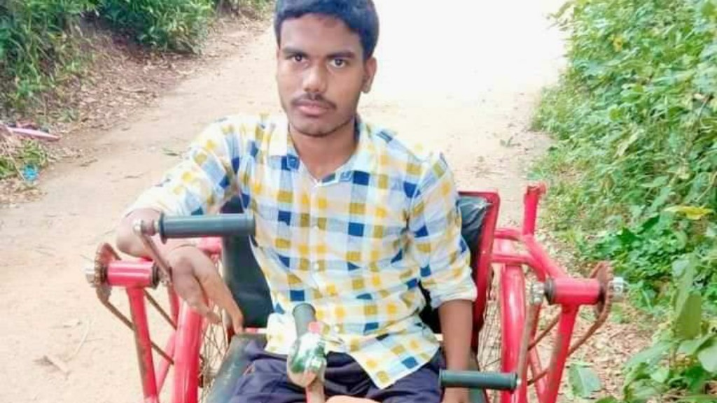 Meet wheelchair-bound Baraj who secures 84 percent marks in +2 Science exam