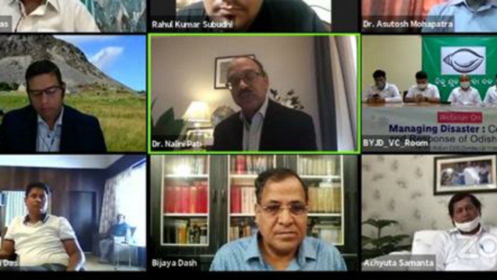 BJD youth wing organizes webinar on combating COVID-19