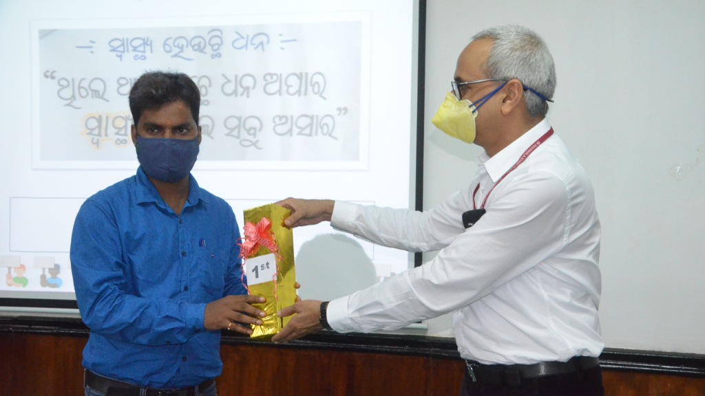 Winners announced of COVID-19 based slogan competition conducted by SAIL