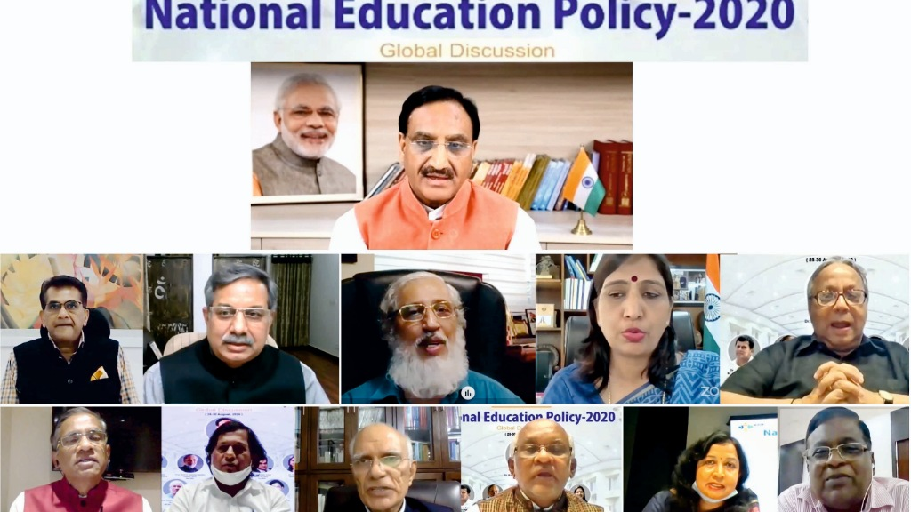 HRD Minister inaugurates KIIT's webinar on new Education Policy