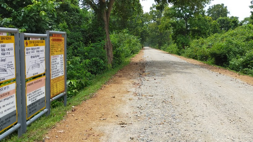 Villagers resent poor road work under PMGSY