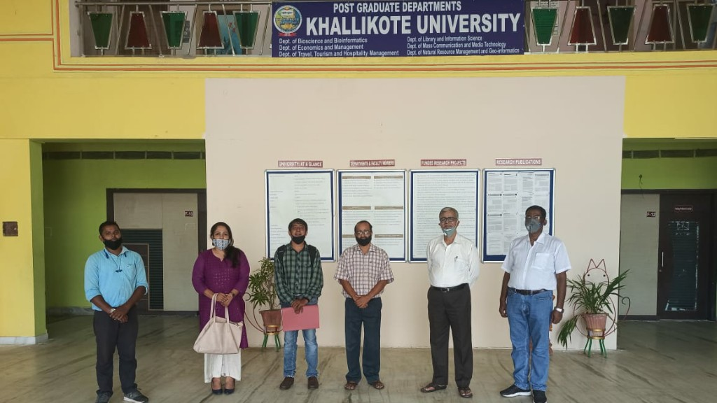 Khallikote University to conduct final semester exams offline